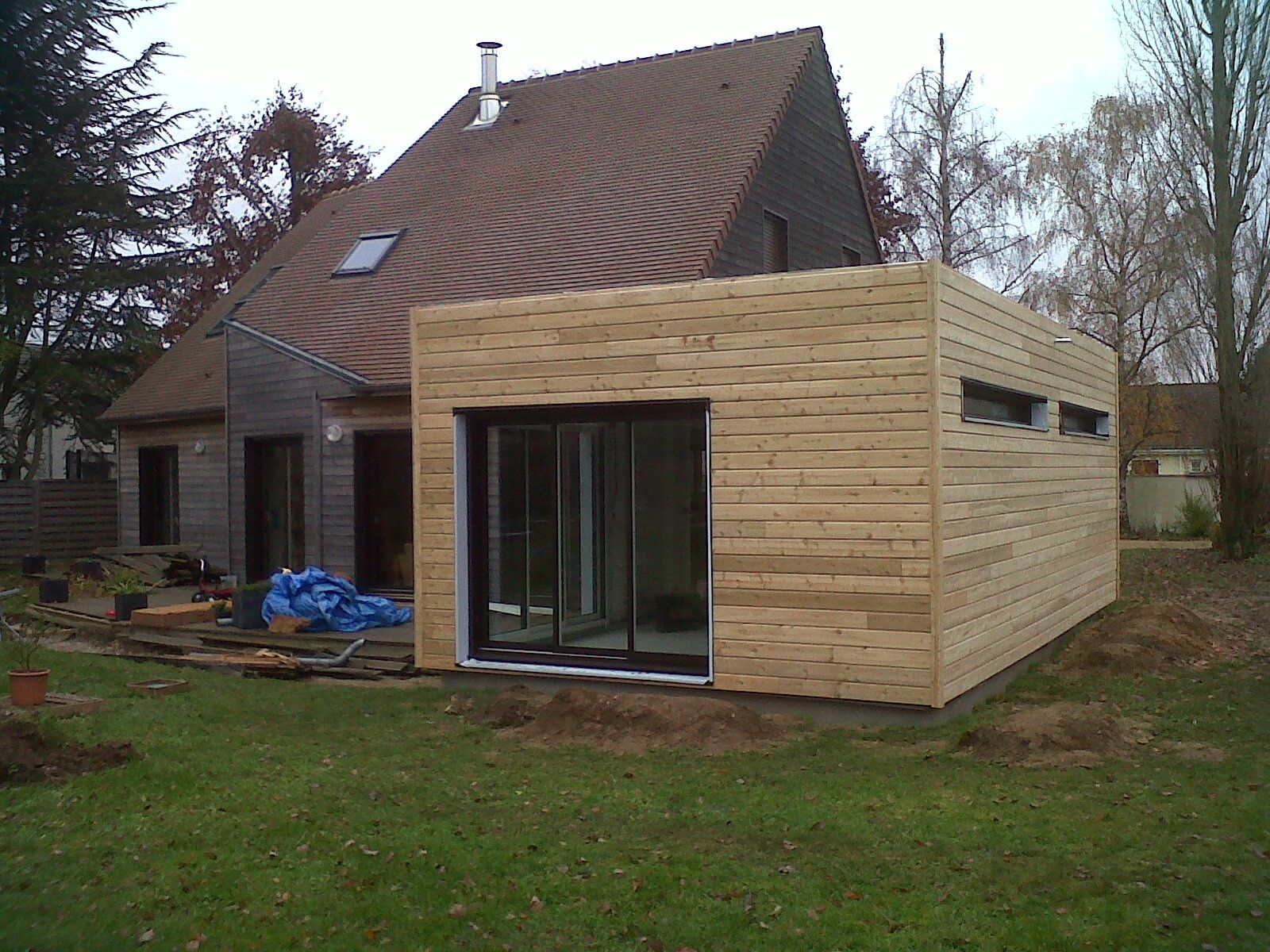 Le blog de constructionbois ledrein for Extension toiture