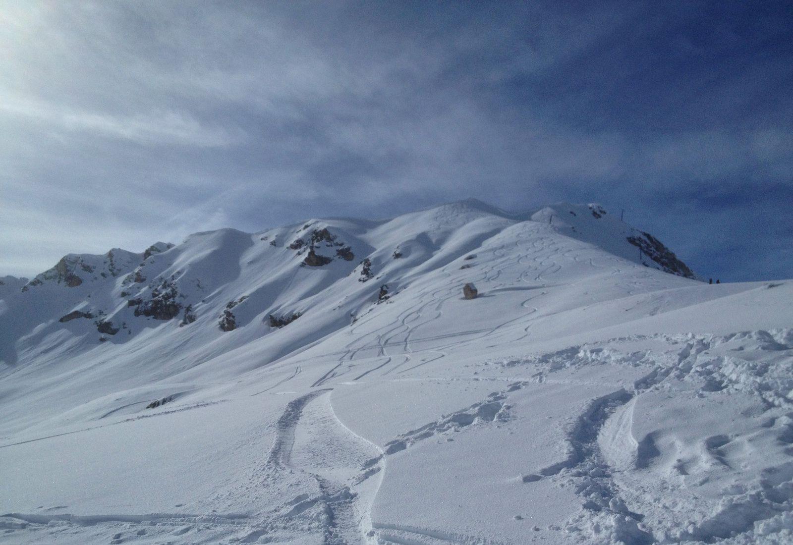 Escapade hivernale : ski alpin et surf  en Savoie