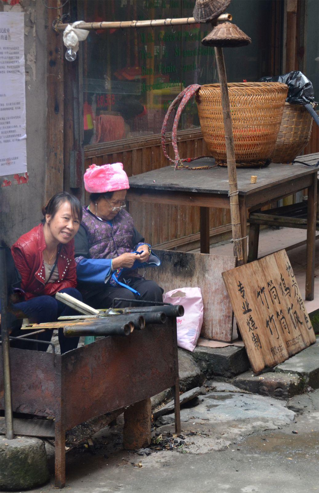 Riz bambous