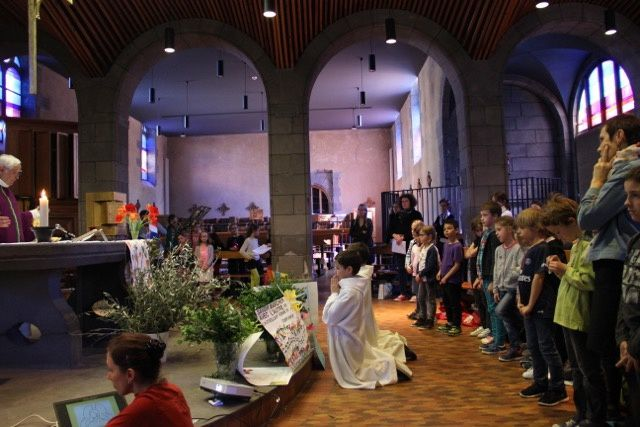 Messe des Rameaux du CE1 au CM2