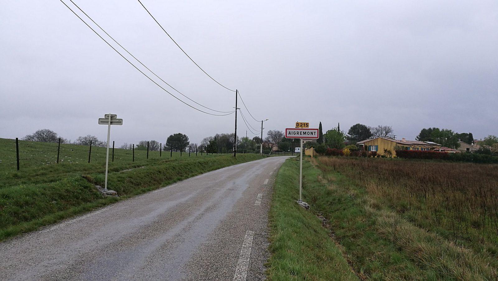 Aigremont &#x3B; 800 mètres de chez moi, je vais devoir revoir mes explications de navigation ...