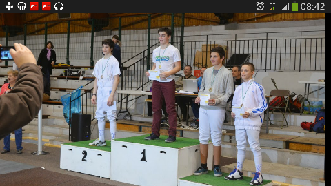 Louis remporte le Criterium de Ligue H2020