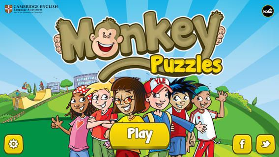 MONKEY PUZZLES FREE APP FOR KIDS