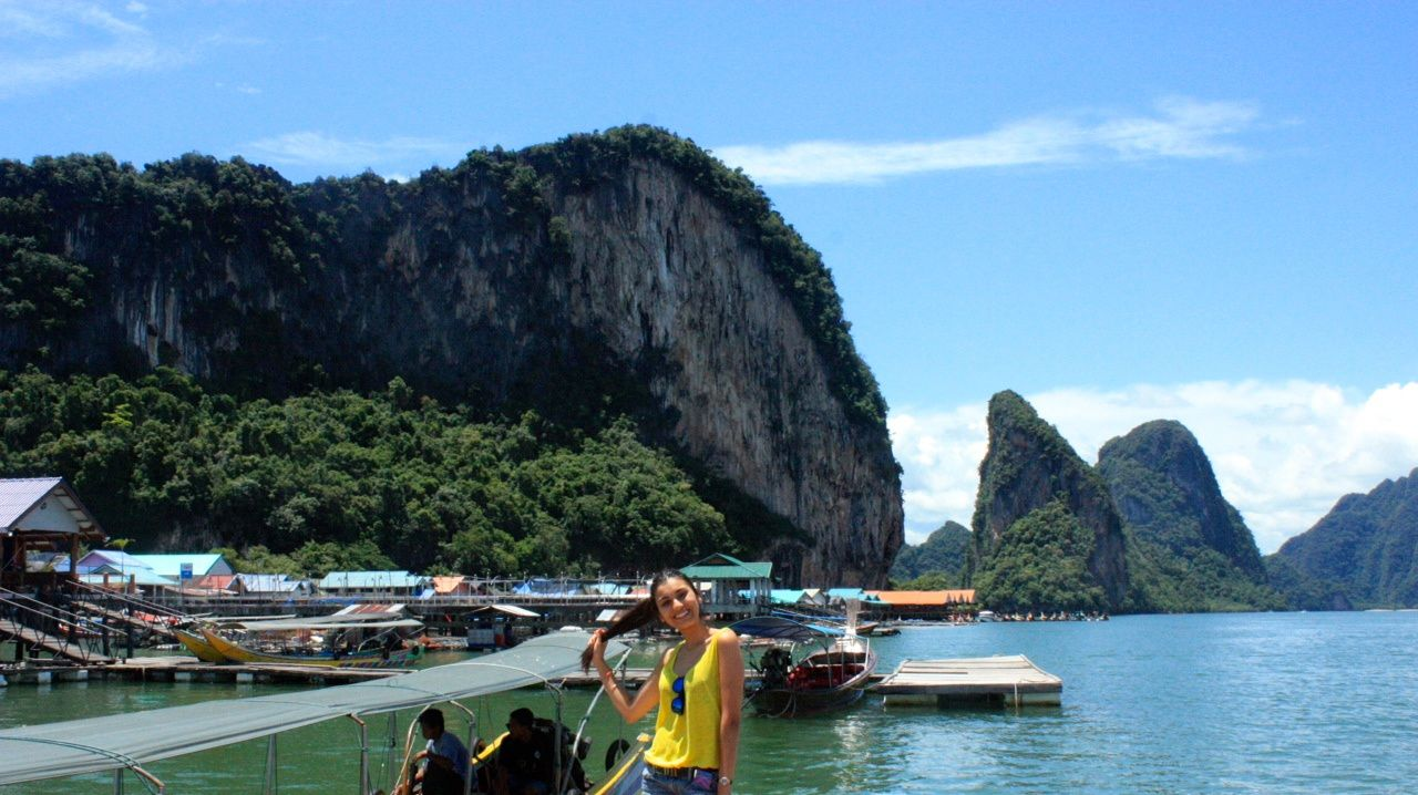 Thailand diary : Shade of blue