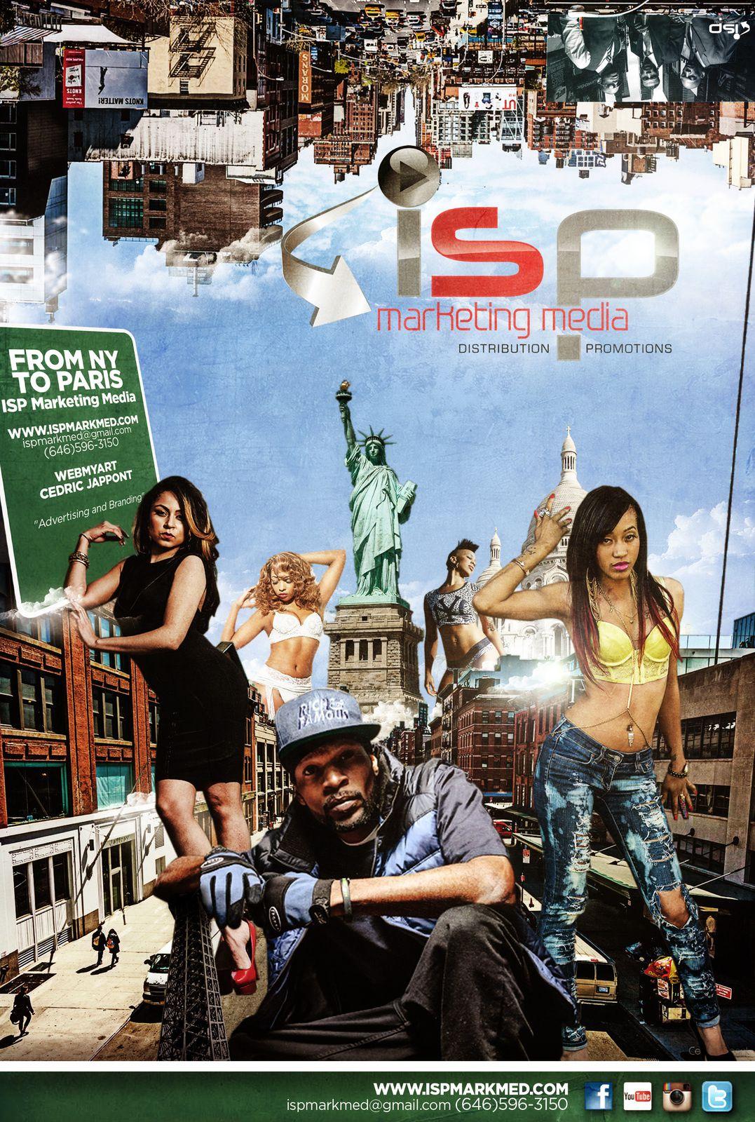 Artwork for ISP Marketing Media - New York