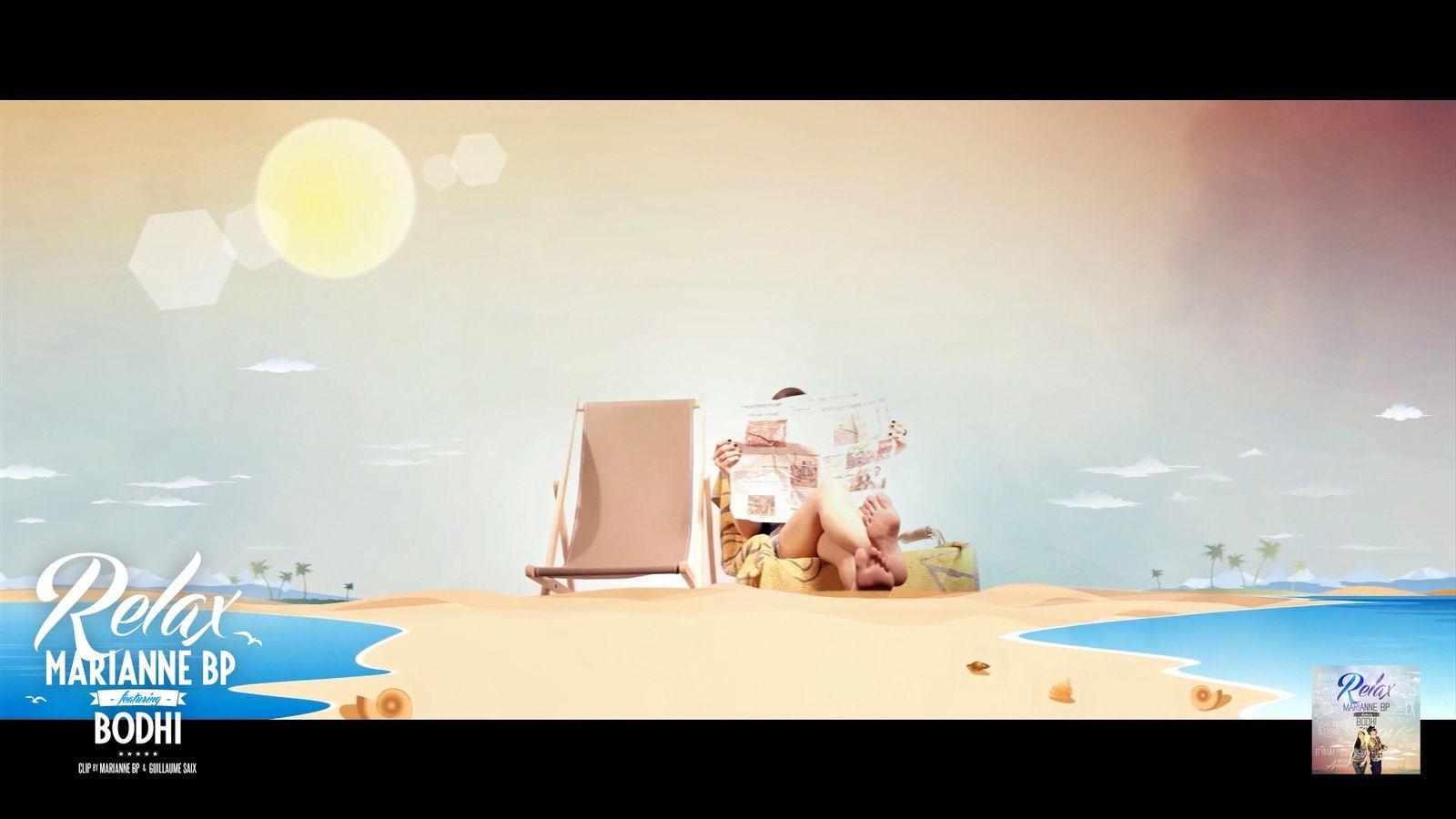 Clip &amp&#x3B; Artwork &quot&#x3B;Relax&quot&#x3B; Marianne BP feat. Bodhi