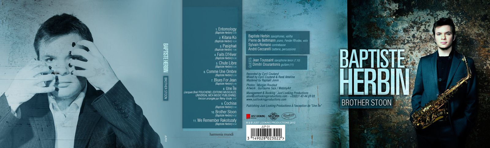 artwork albums Baptiste Herbin