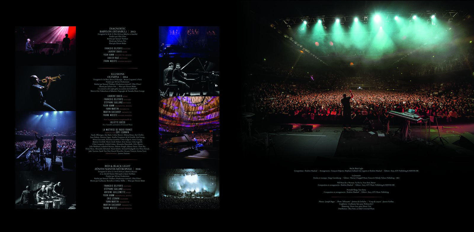 artwork for Ibrahim Maalouf - 10 ans de live !
