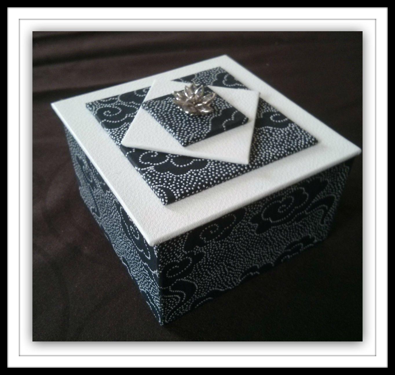 Boîte noire et blanche