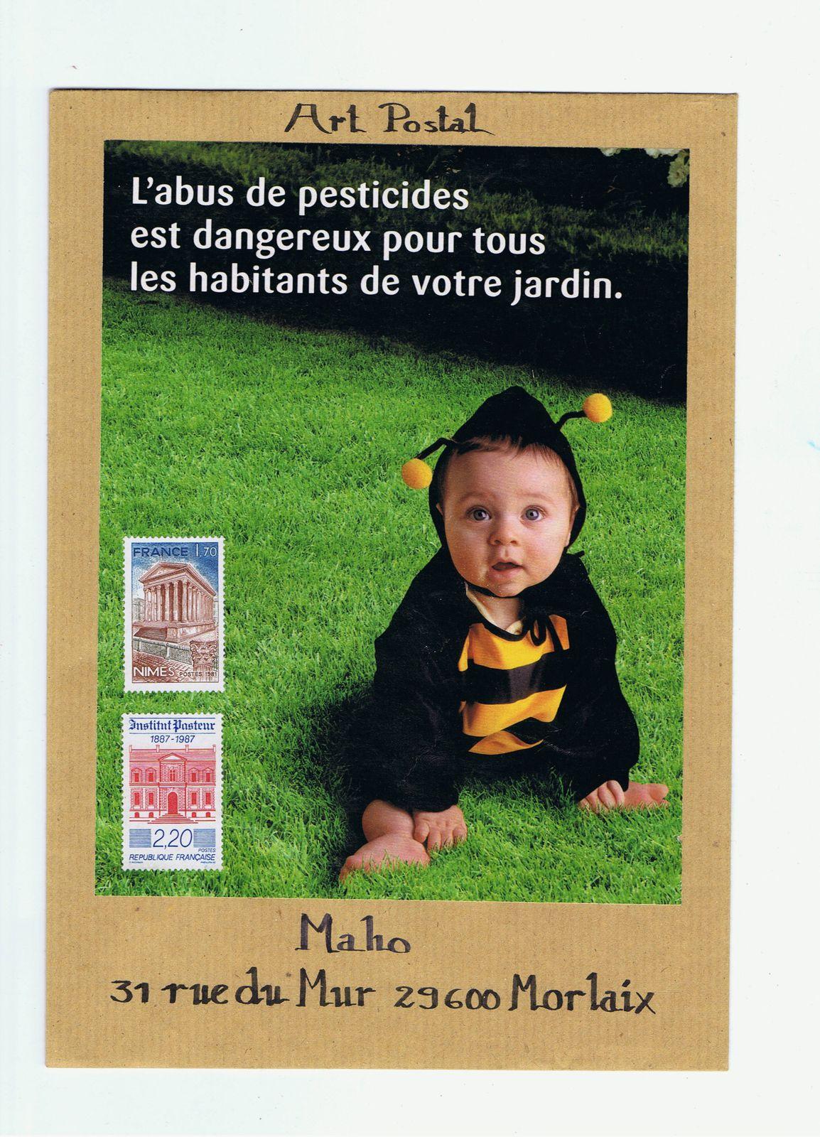 """Pour Maho et son appel """"Insectes""""..."""