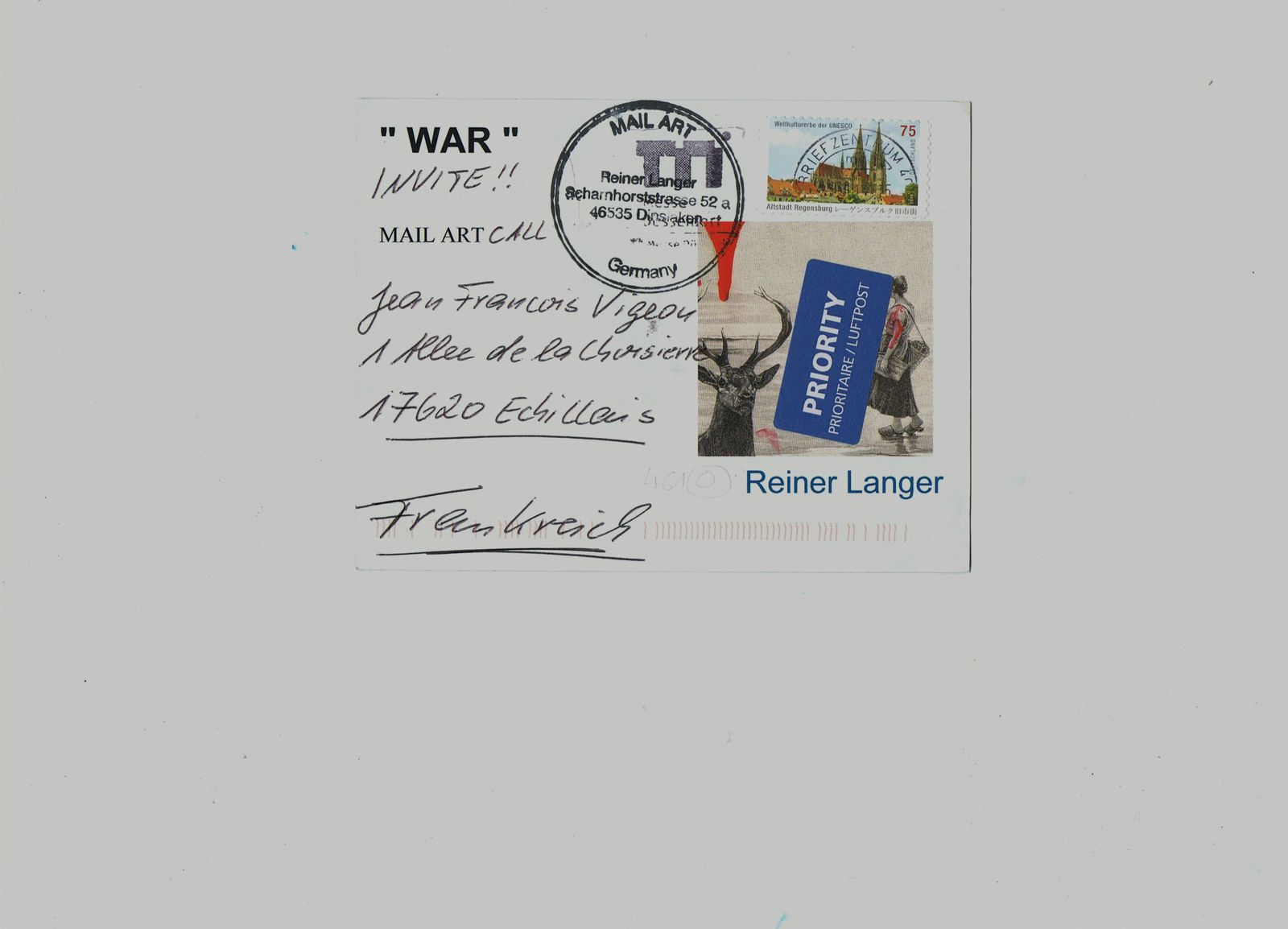 Thank you to Reiner Langer from GERMANY.