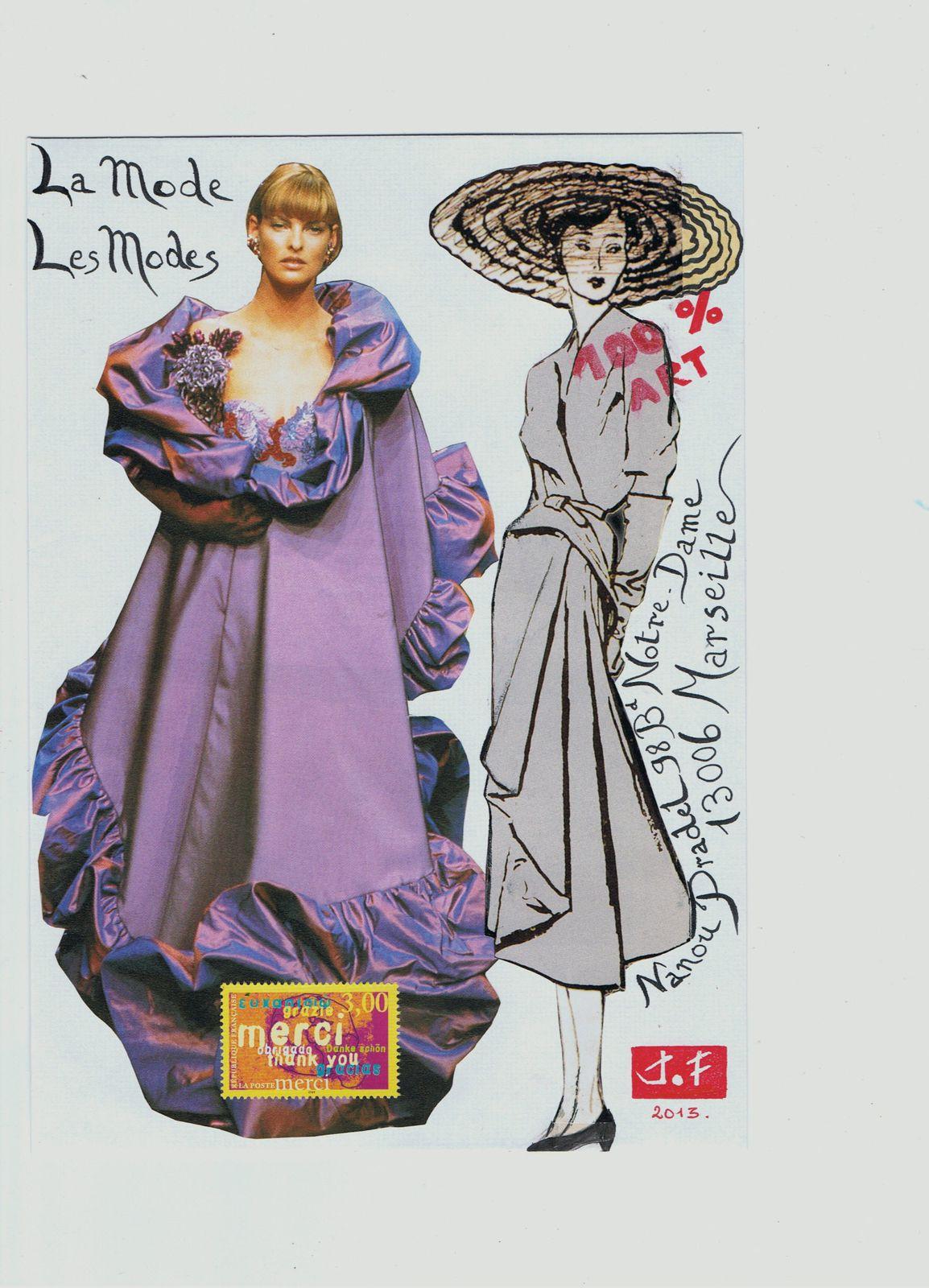 "Pour Nanou Pradel et son appel : ""la Mode""."