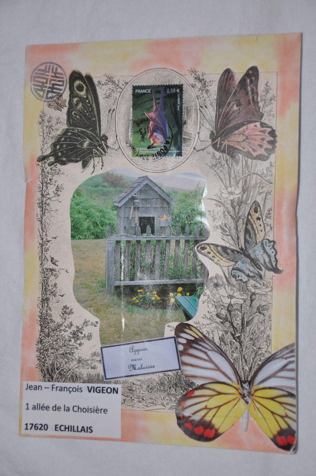 Merci à Marie Fenianos pour ces joilis papillons!