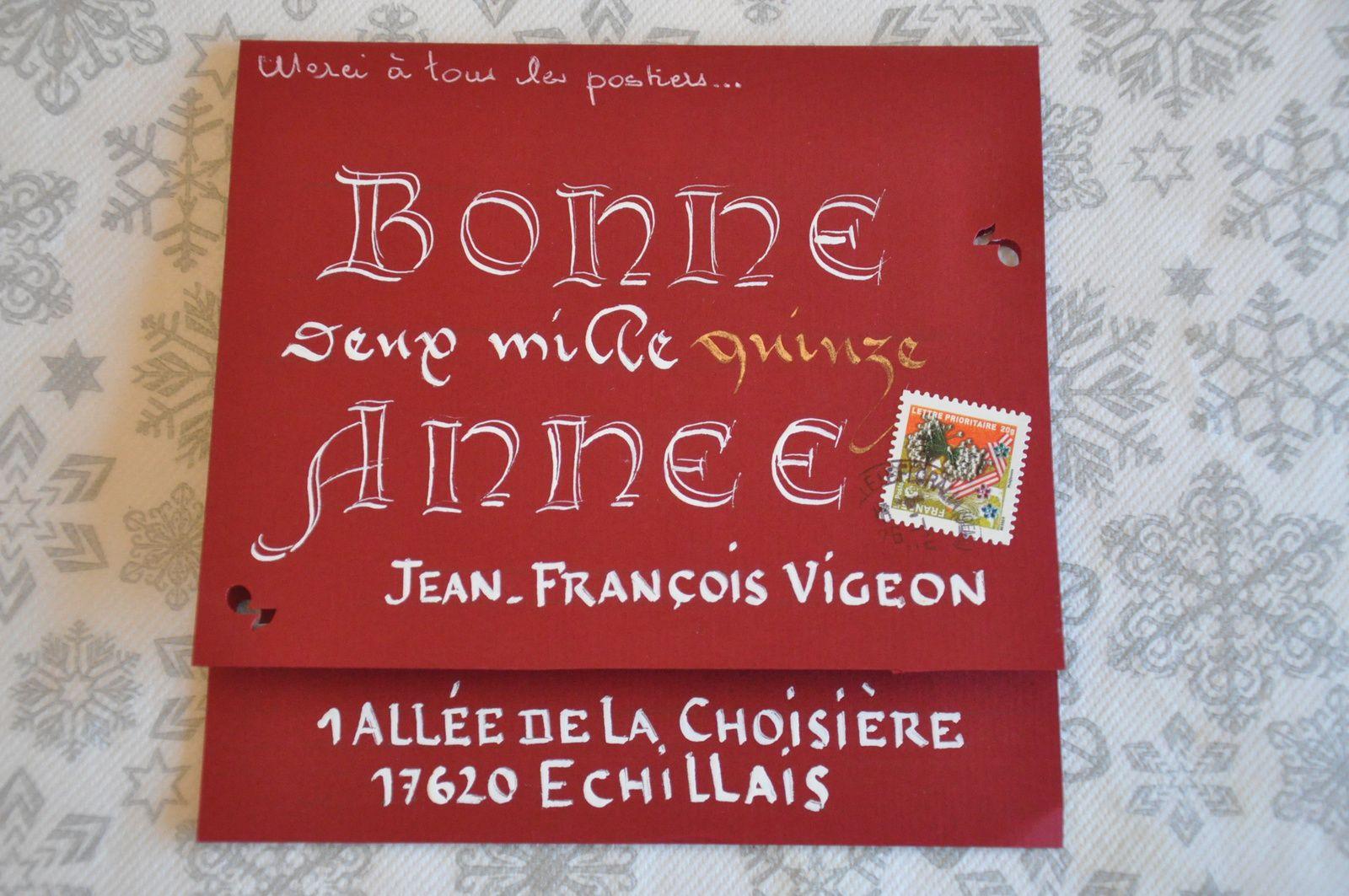 J'adore la calligraphie, les belles lettres, les enluminures...Merci beaucoup à Armelle Vasseur et Maho pour ces enchantements!