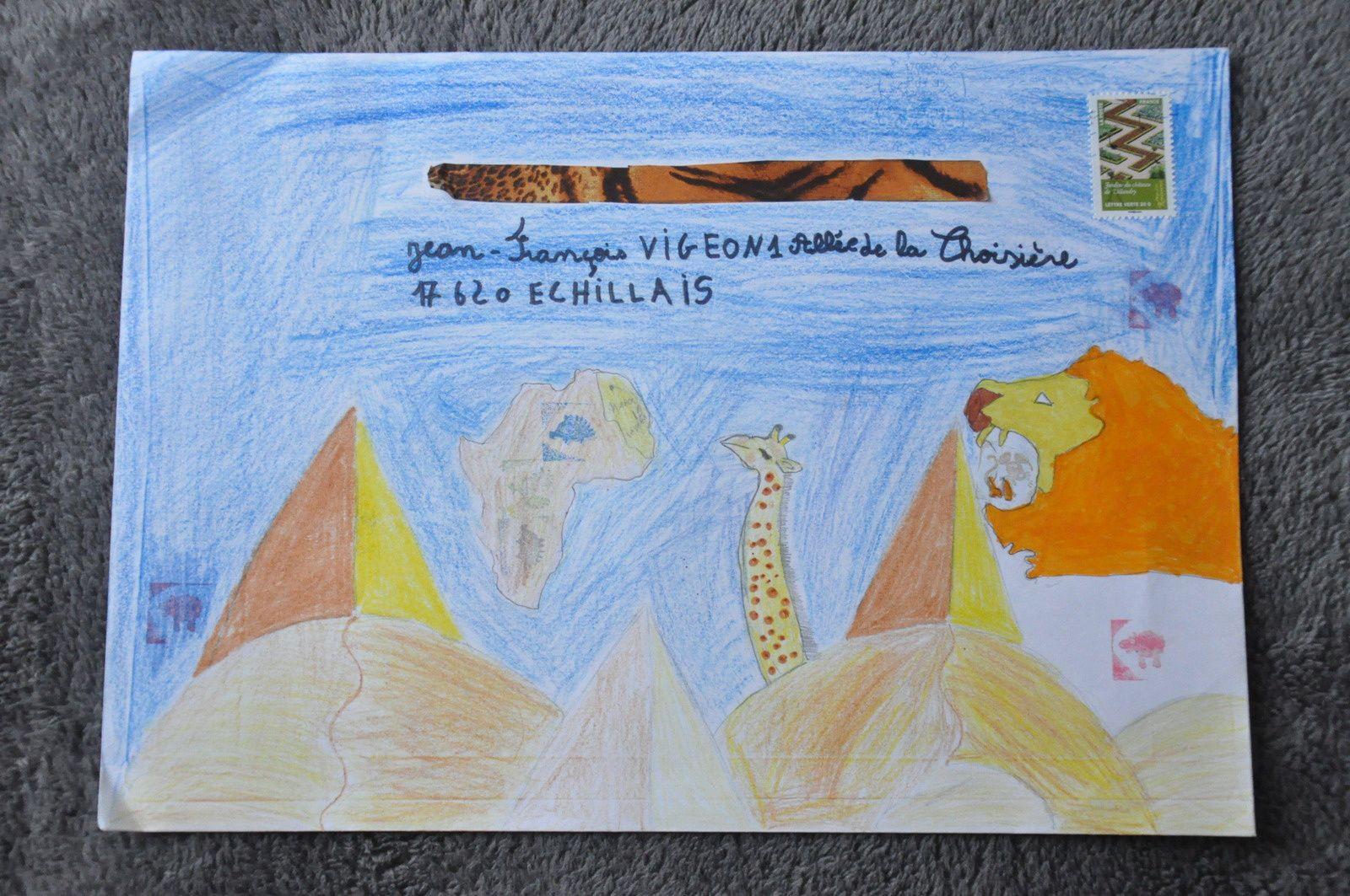 Merci encore aux élèves du CM2 de l'école Jules Ferry de Valence d'Agen!