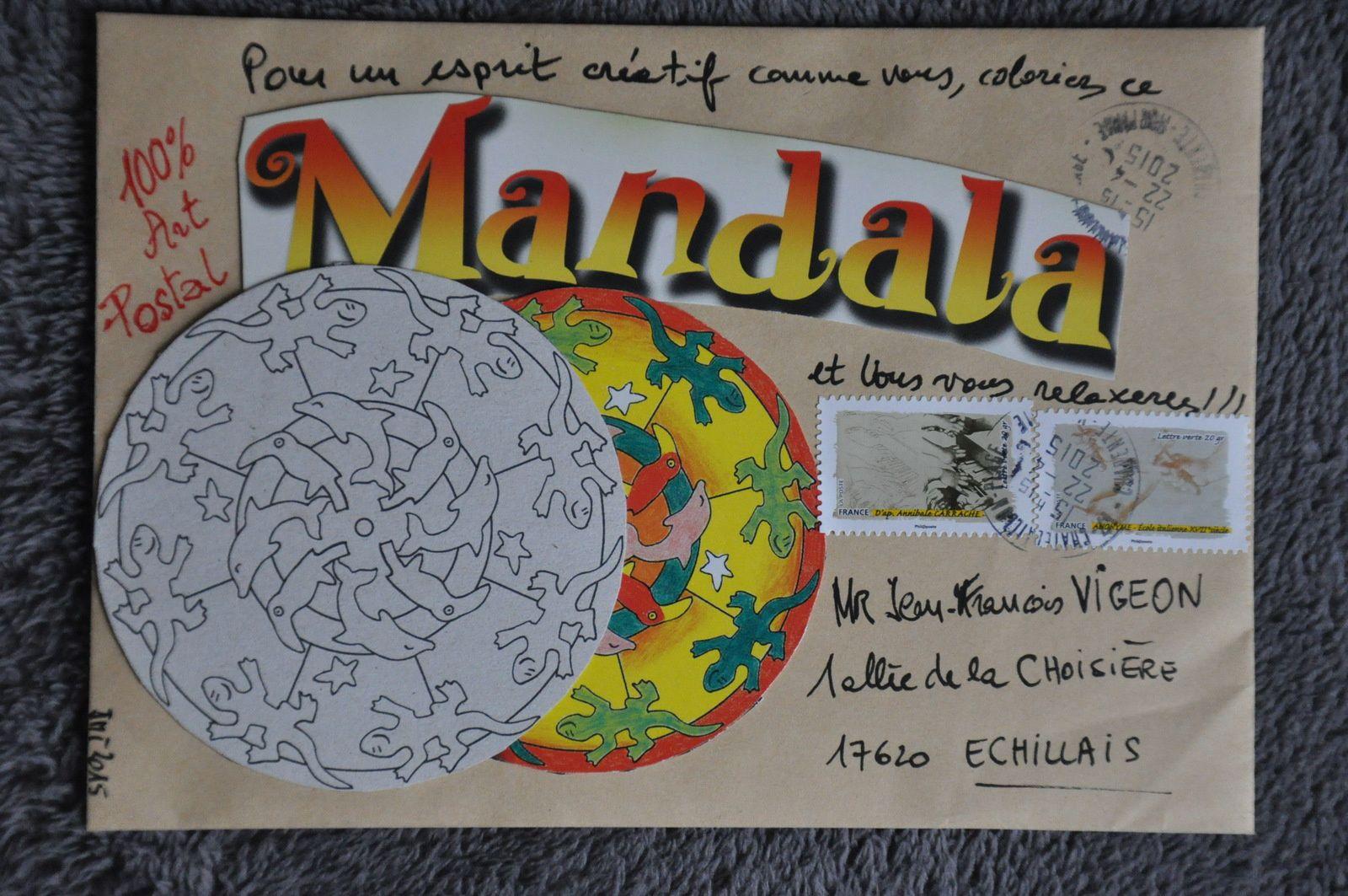 Merci à Jean-Michel Trouche pour ces 2 Mails-Arts reçus le même jour!