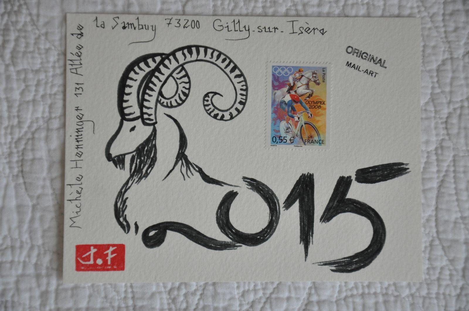 L'année chinoise de la chèvre pour Michèle Henninger.