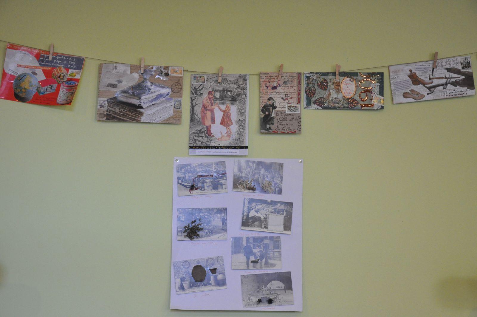 Je remercie encore la bibliothèque d'Echillais et plus particulièrement Mme Lampin qui a eu la tâche difficile de choisir parmi les 319 créations reçues!