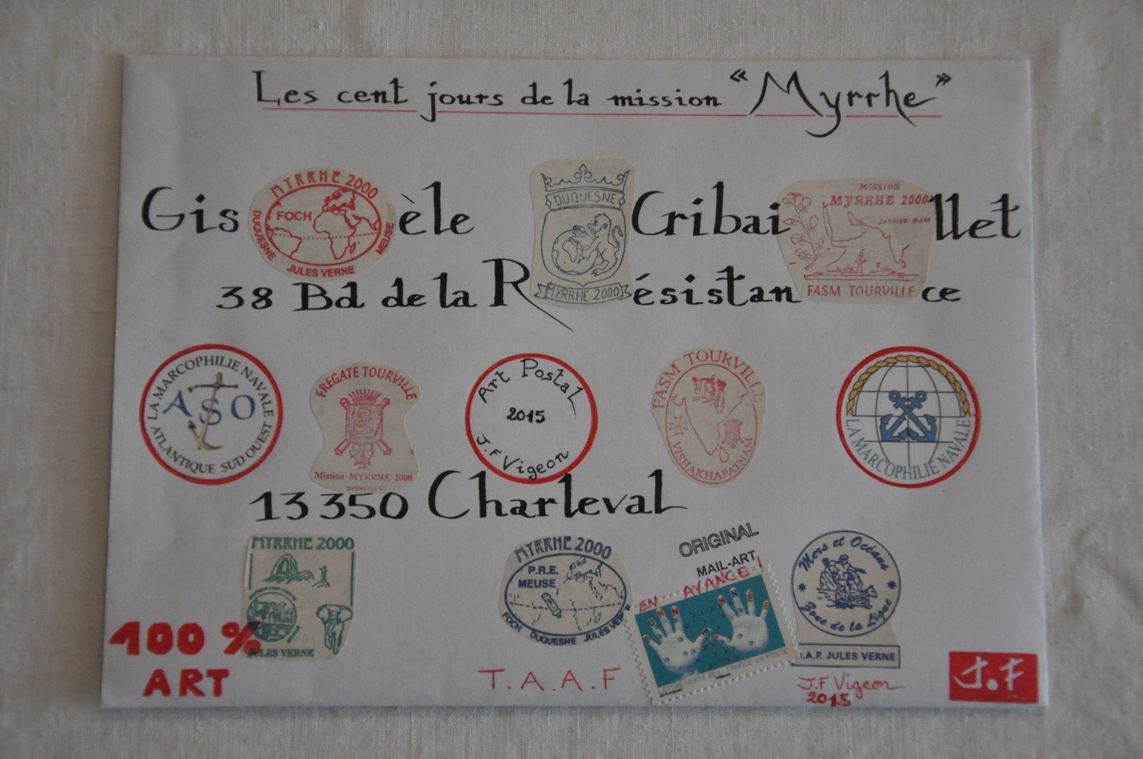 Pour Gisèle Cribaillet.