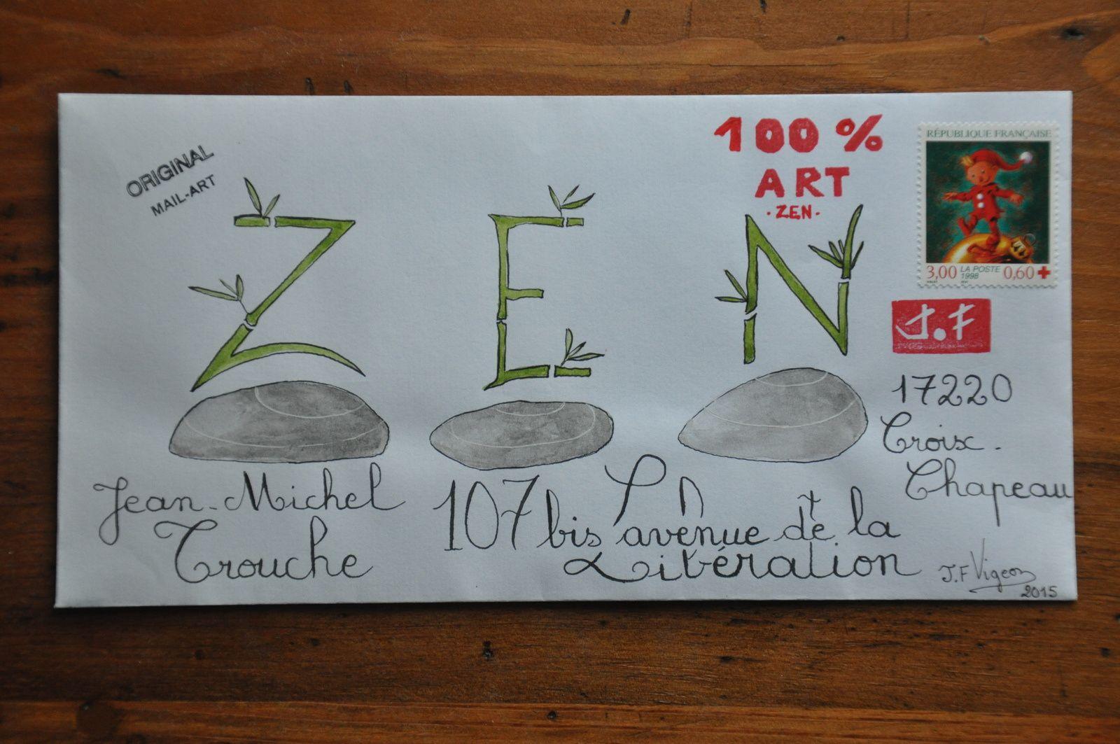 Pour Jean-Michel Trouche, toujours dans l'esprit ZEN!