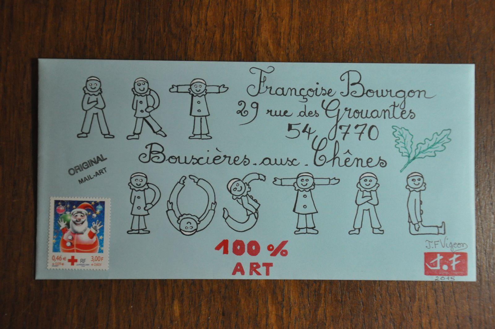 Pour Françoise Bourgon.