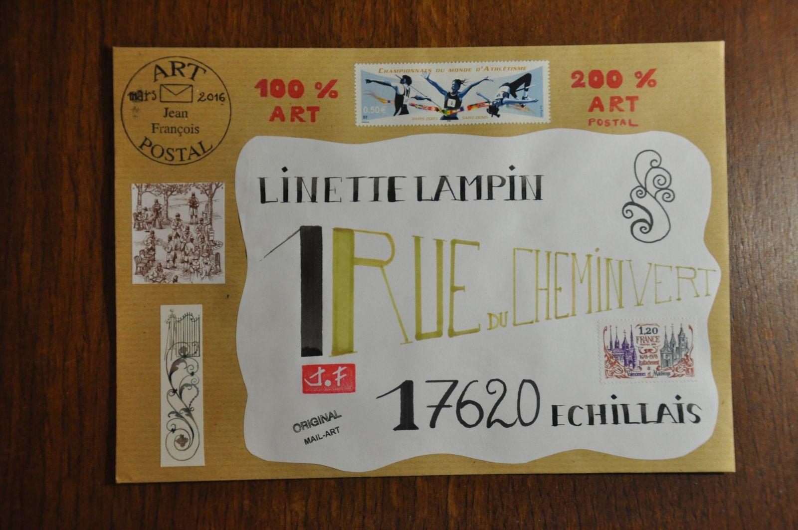 Pour Linette Lampin.