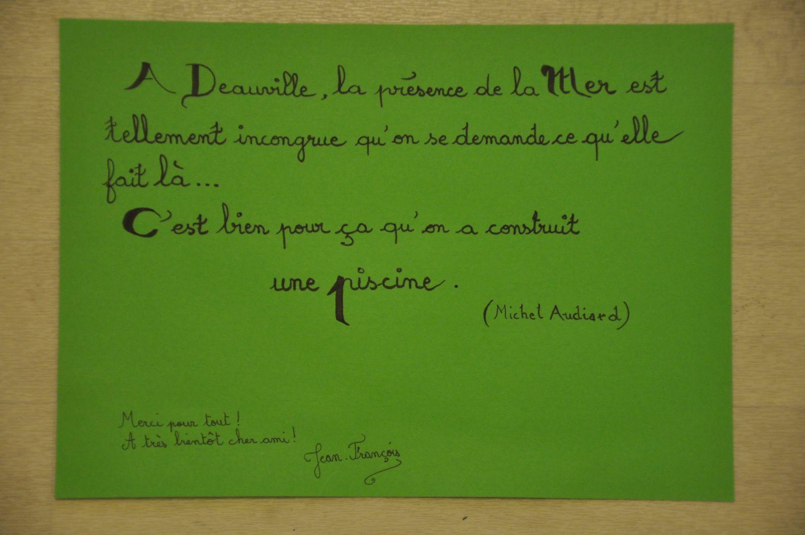 Pour Jean-Michel Trouche, ces deux envois en même temps qui ne rattraperont jamais les siens mais le coeur y est!