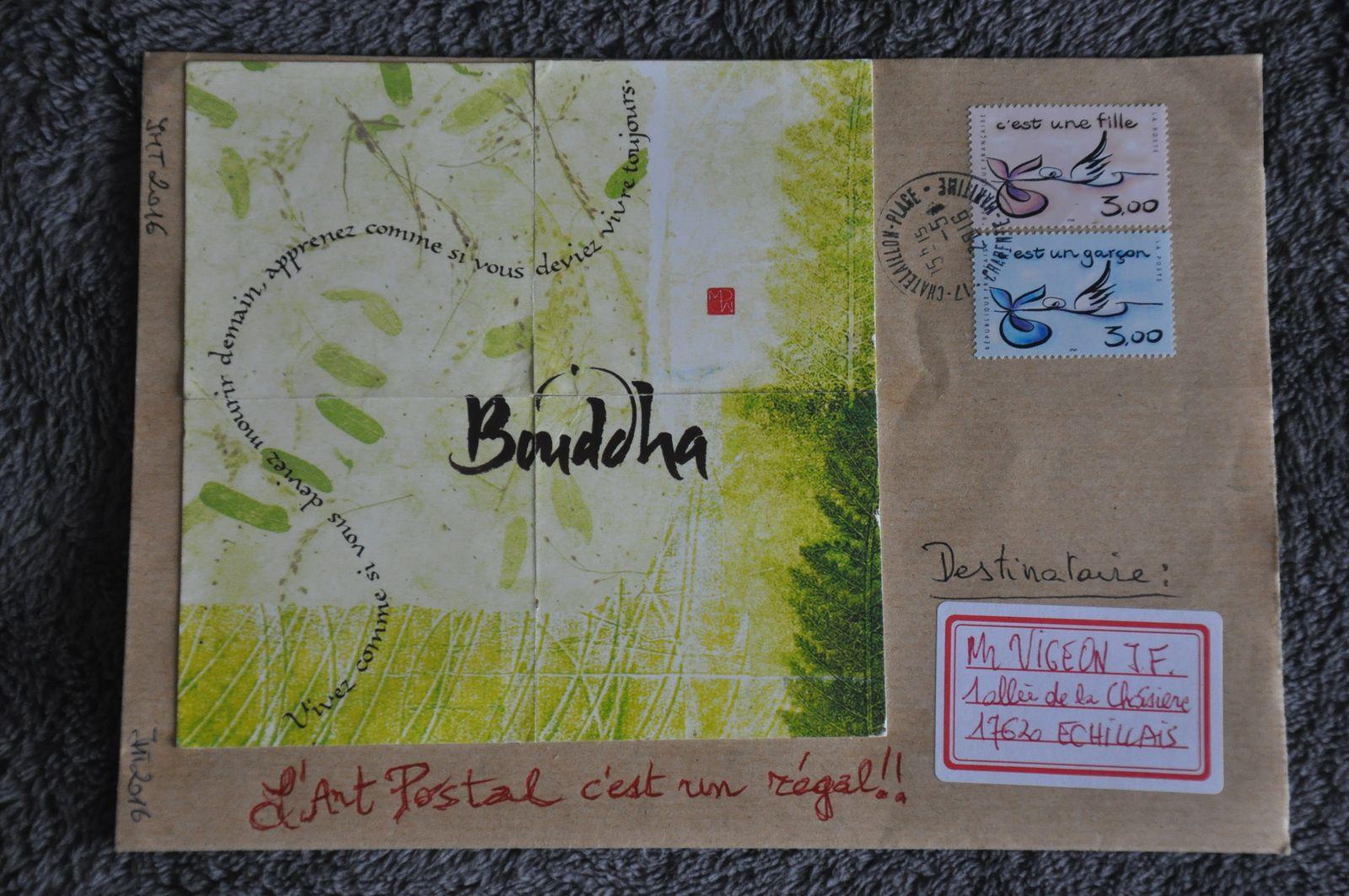Merci à Jean-Michel Trouche pour ces nombreuses trouvailles chinées ici et là et qui se retrouvent pour une deuxième vie sur des enveloppes!