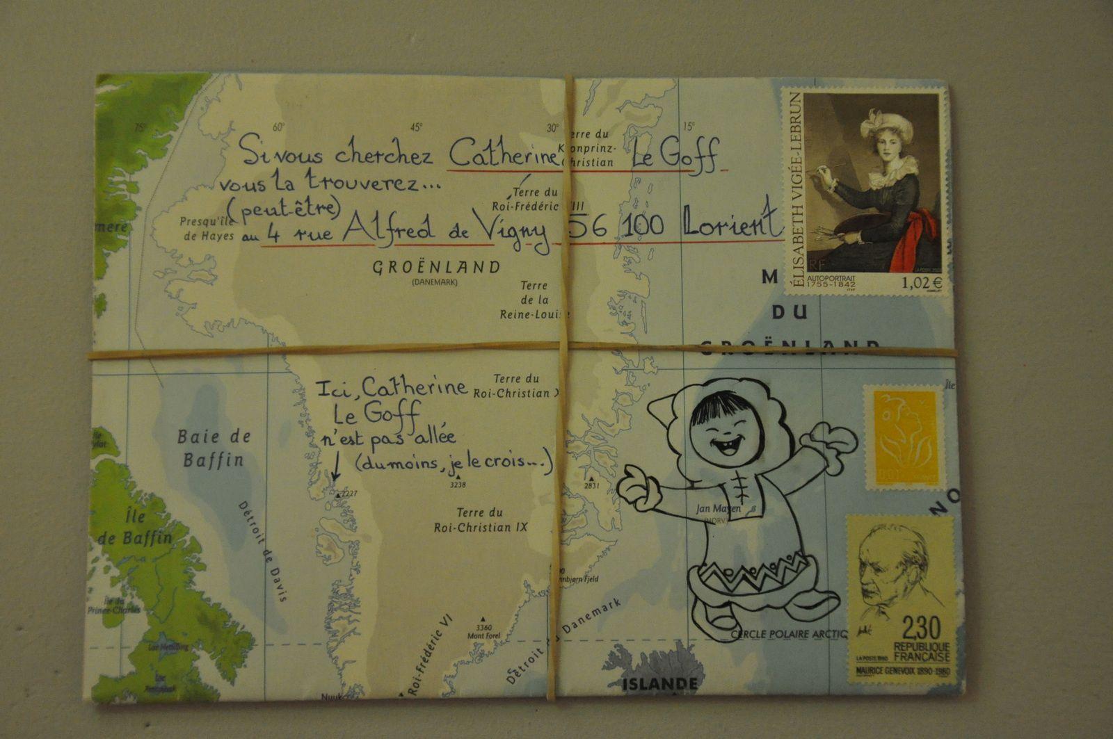 Voici pour Catherine Le Goff, passionnée de voyages...