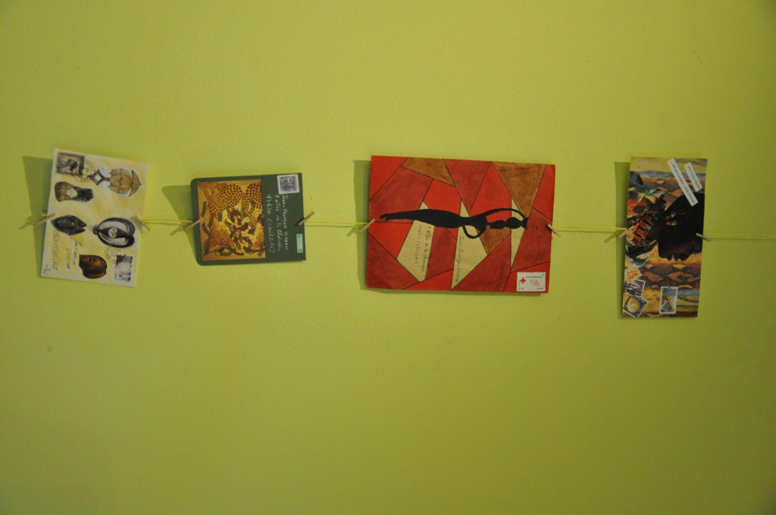 Voici donc quelques images de cette exposition...