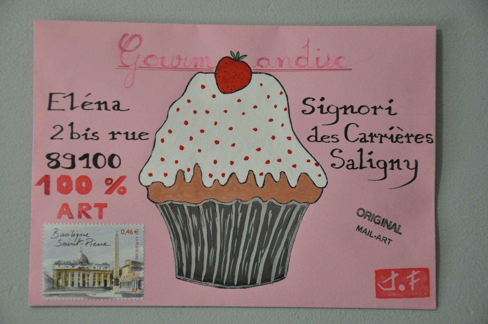 Pour Elena Signori, une petite gourmandise à la gouache!
