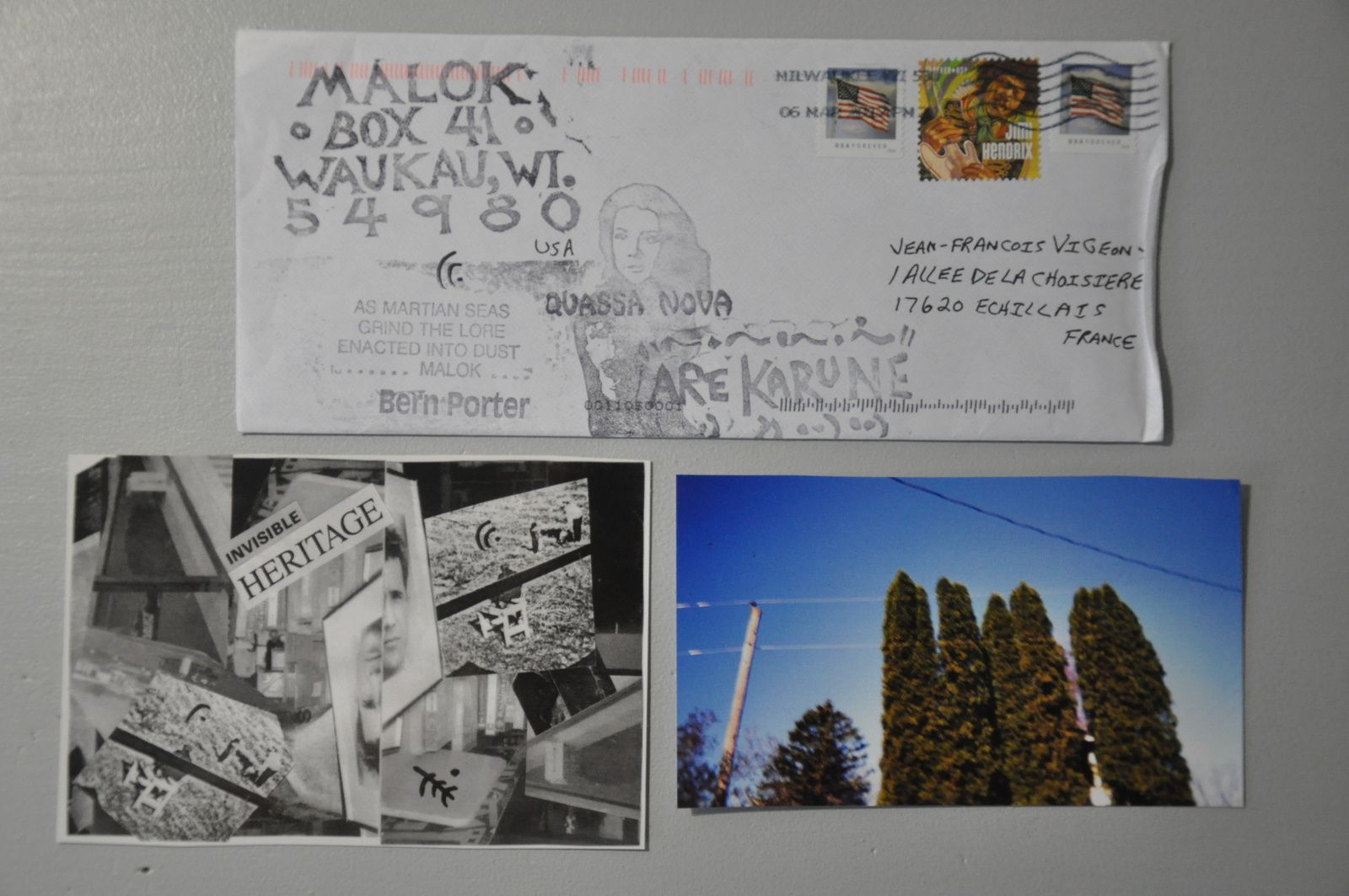 Reçu des ETATS-UNIS! Thank you very much to MALOK!!!!!!!!!!!!!!!!!