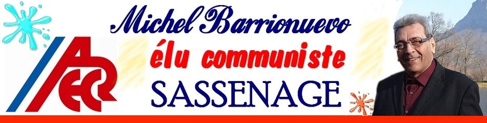 Michel Barrionuevo élu communiste de Sassenage