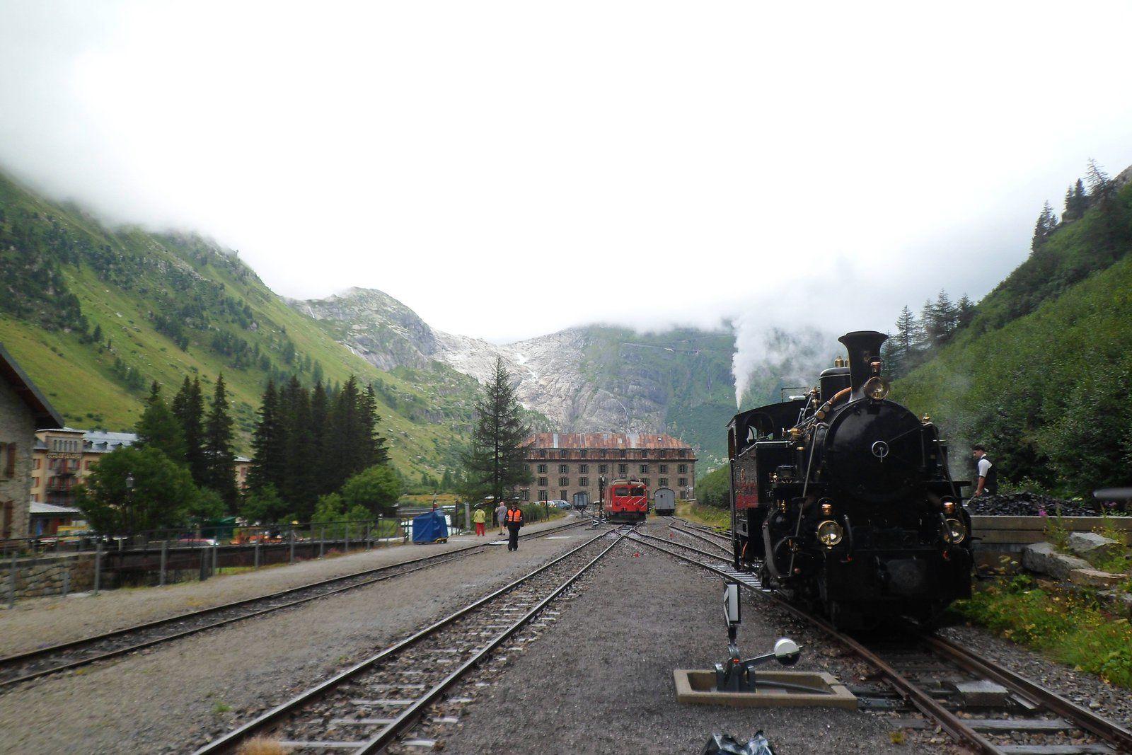 un petit tour en suisse : le rhône