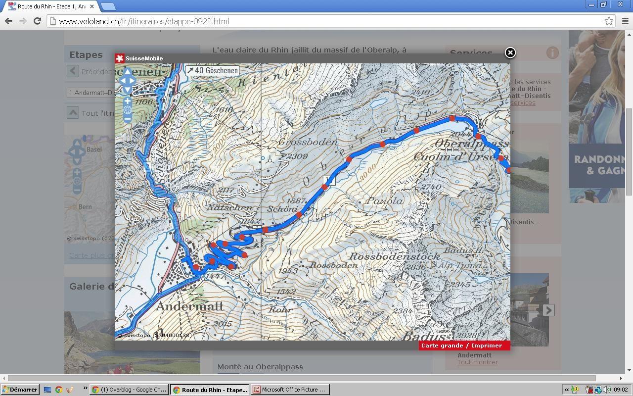 un petit tour en suisse : le rhin
