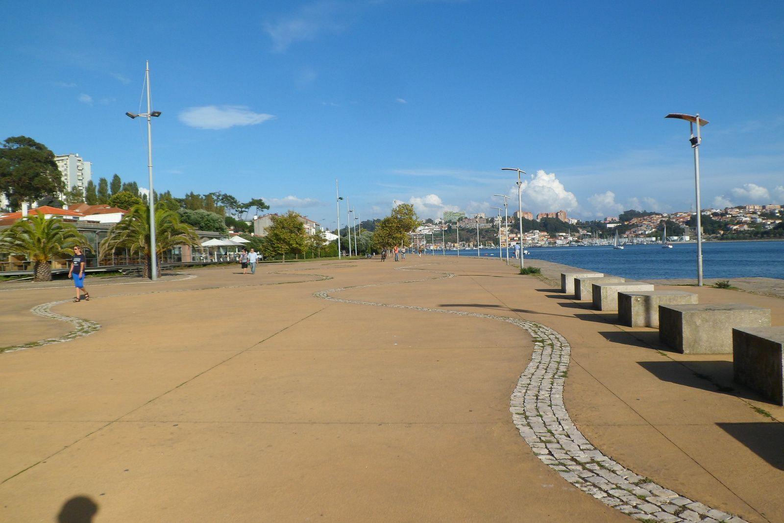 les bords du douro, à la sortie de porto