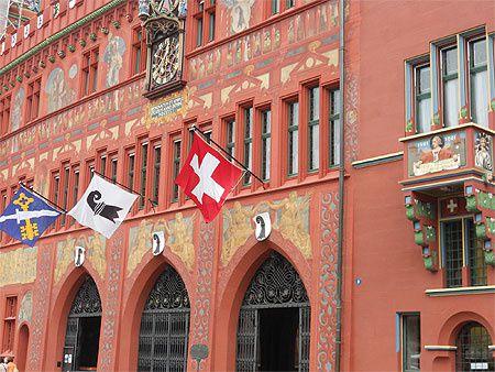 Bâle (CH) une ville chargée d'histoire