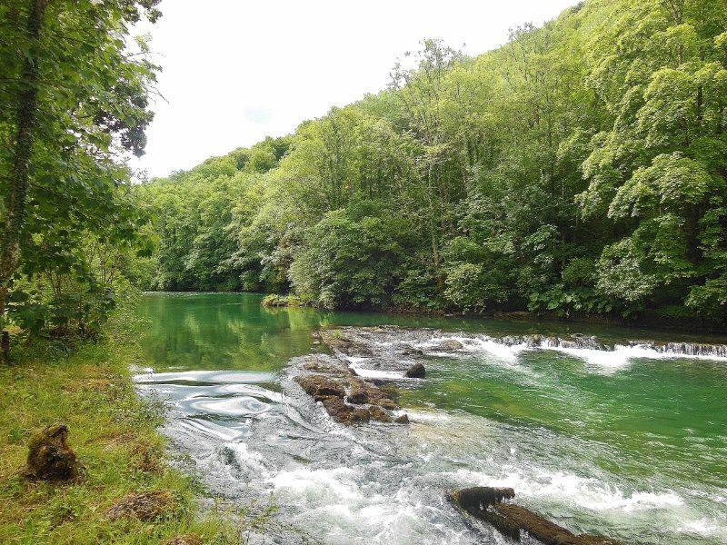 La Loue (rivière de Franche Comté) - 25