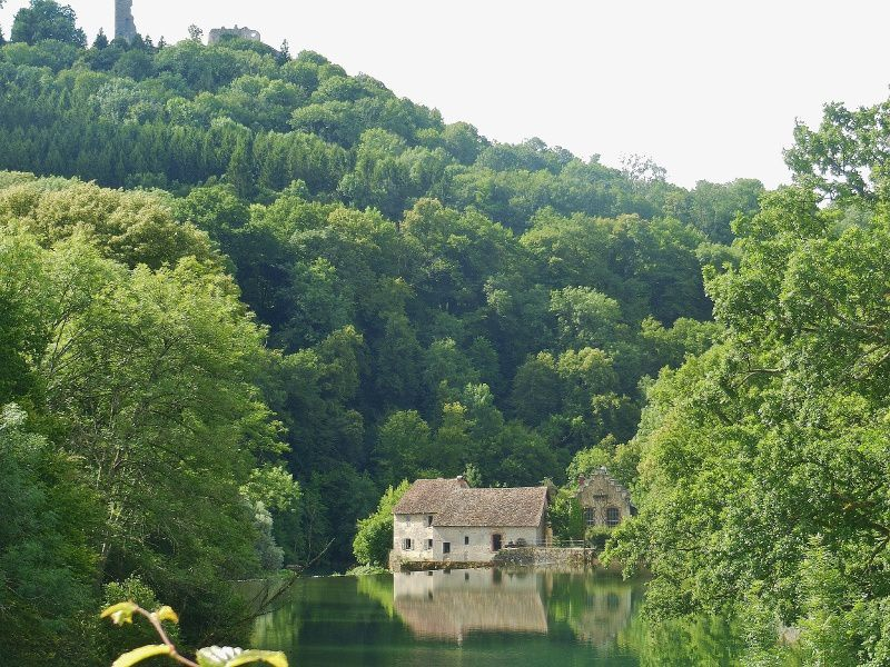 Le miroir de Scey - Franche Comté - 25