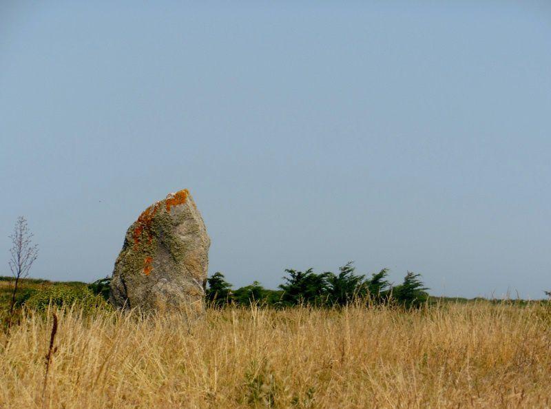 Menhirs Jean &amp&#x3B; Jeannette - Quiberon