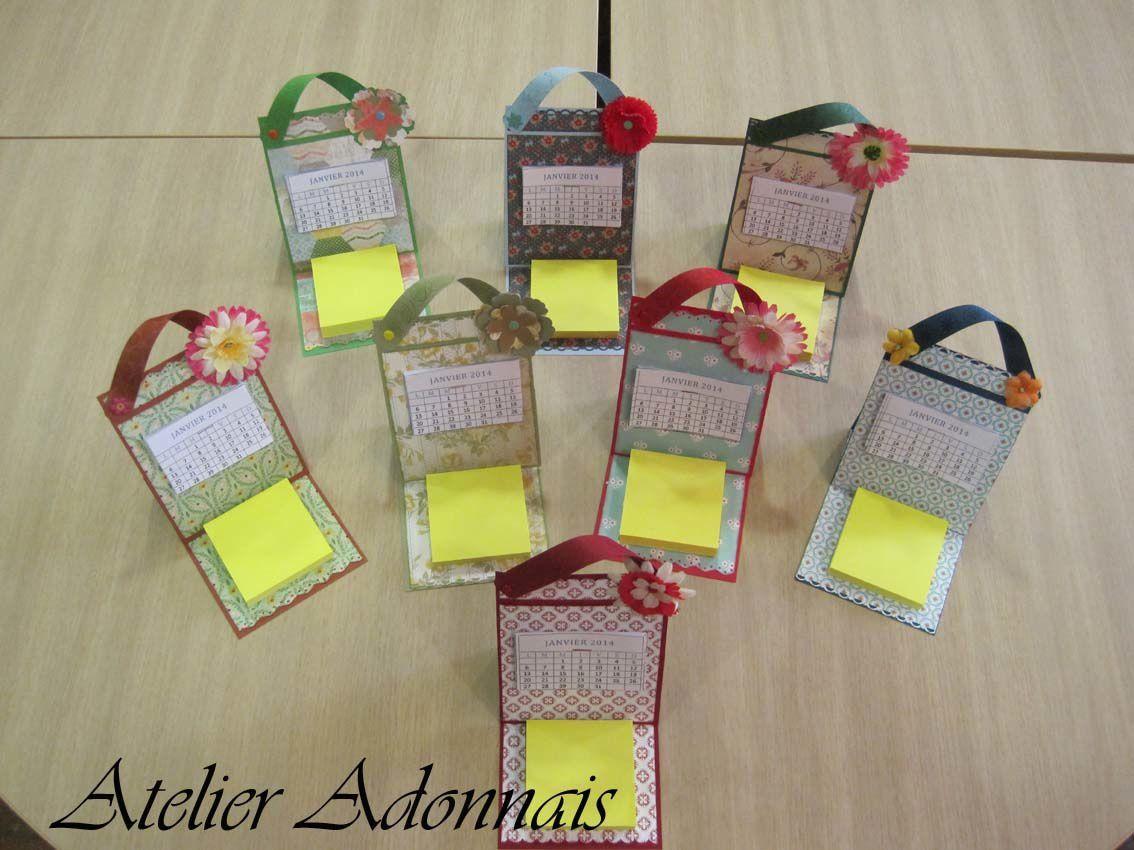 Les calendriers d'Adon