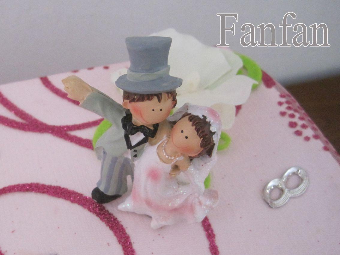 Urne pour un mariage