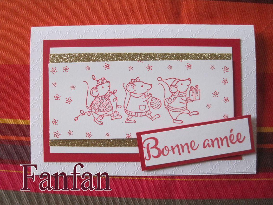 Carte Voeux des P'tites Souris !!!