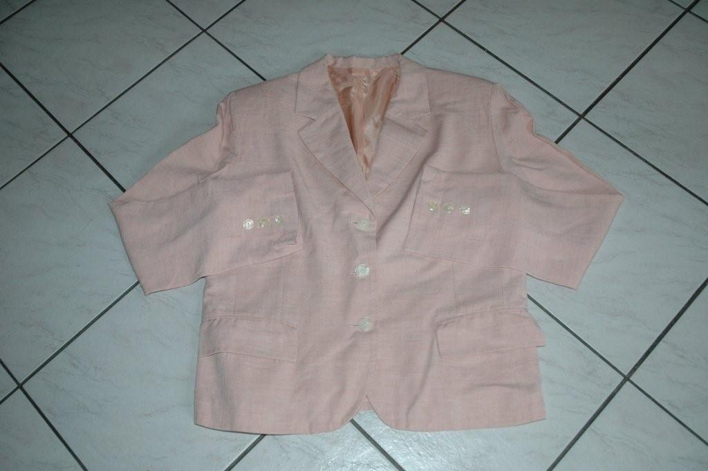 Vestes rose et jaune / beige - Taille 38