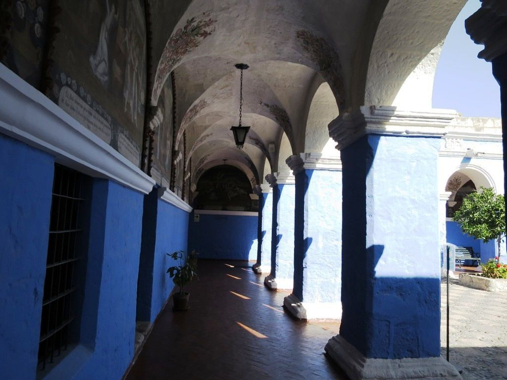 Le monastère de Santa Catalina