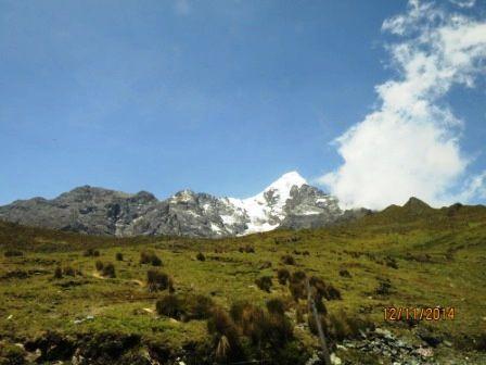 Descente du col de ABRA MALAGA (4350 m)