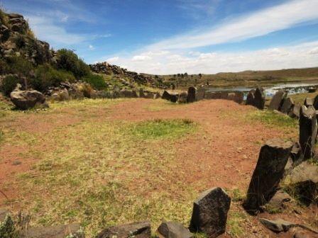 Les tombes de SILLUSTANI