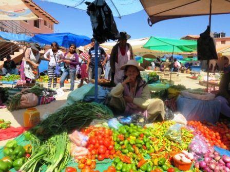 Le marché de TARABUCO