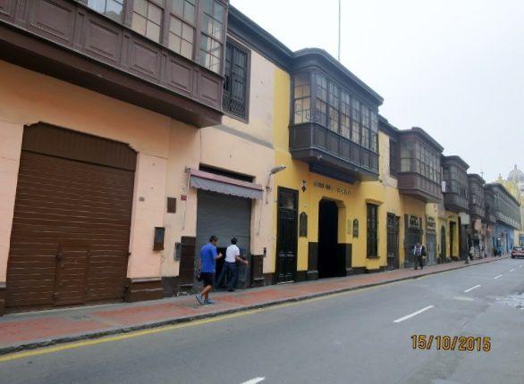 Une vue de Lima.