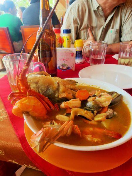 Ma soupe de poisson,un délice!!!!!